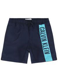 Niebieskie kąpielówki Calvin Klein Swimwear
