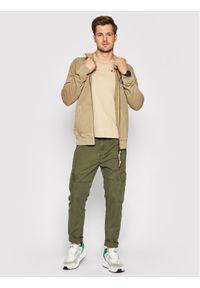Napapijri Bluza Beob NP0A4F69 Zielony Regular Fit. Kolor: zielony
