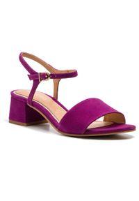 Fioletowe sandały Gioseppo na co dzień
