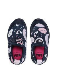 Bibi - Sneakersy BIBI - Space Wave 2.0 1132103 Naval/Print. Kolor: niebieski. Materiał: materiał. Wzór: nadruk