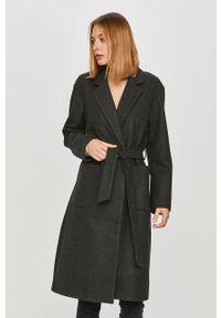 Szary płaszcz only bez kaptura, na co dzień, casualowy