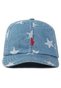 Niebieska czapka z daszkiem Polo Ralph Lauren
