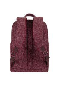 Plecak na laptopa RIVACASE Anvik 7923 13.3 cali Czerwony. Kolor: czerwony. Materiał: materiał