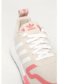 Buty sportowe adidas Originals na obcasie, z cholewką, z okrągłym noskiem, na średnim obcasie