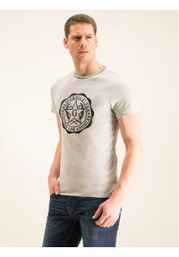 Guess T-Shirt M01I83 K46D0 Szary Slim Fit. Kolor: szary