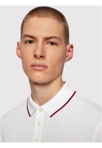 BOSS - Boss Polo Parlay 101 50445486 Biały Regular Fit. Typ kołnierza: polo. Kolor: biały