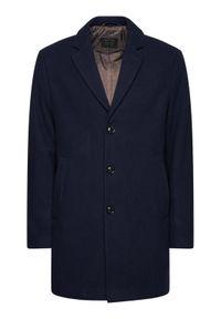 Niebieski płaszcz przejściowy Pierre Cardin #7