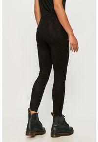 Czarne legginsy Vero Moda z podwyższonym stanem