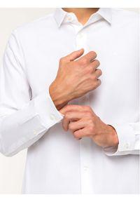 Biała koszula biznesowa Calvin Klein Jeans