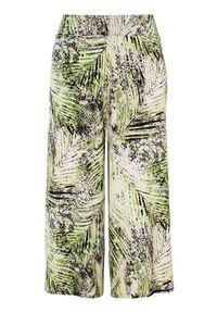 Cellbes Wzorzyste spódnicospodnie zielony we wzory female zielony/ze wzorem 38/40. Okazja: na co dzień, na imprezę. Kolor: zielony. Materiał: jersey, guma. Styl: casual