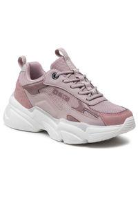 Big-Star - Sneakersy BIG STAR - HH274258 Purple. Okazja: na co dzień. Kolor: różowy. Materiał: skóra ekologiczna, materiał, skóra. Szerokość cholewki: normalna. Sezon: lato. Styl: casual