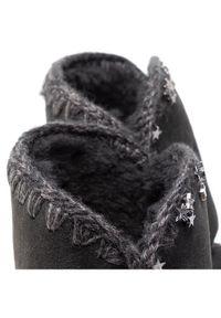 Czarne botki Mou
