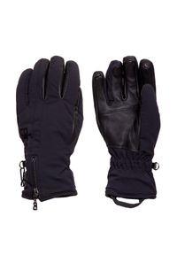 Czarna rękawiczka sportowa Bogner narciarska