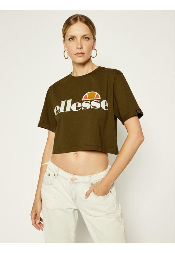 Zielony t-shirt Ellesse