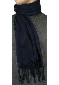 Niebieski szalik V. Fraas na zimę
