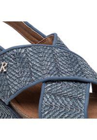 Refresh - Espadryle REFRESH - 72714 Jeans. Okazja: na co dzień, na spacer. Kolor: niebieski. Materiał: skóra ekologiczna, skóra. Sezon: lato. Styl: casual