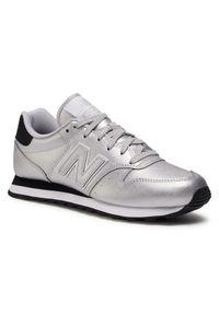 Srebrne buty sportowe New Balance