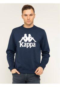 Kappa Bluza Sertum 703797 Granatowy Regular Fit. Kolor: niebieski
