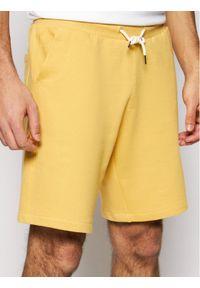 Żółte spodenki sportowe Quiksilver