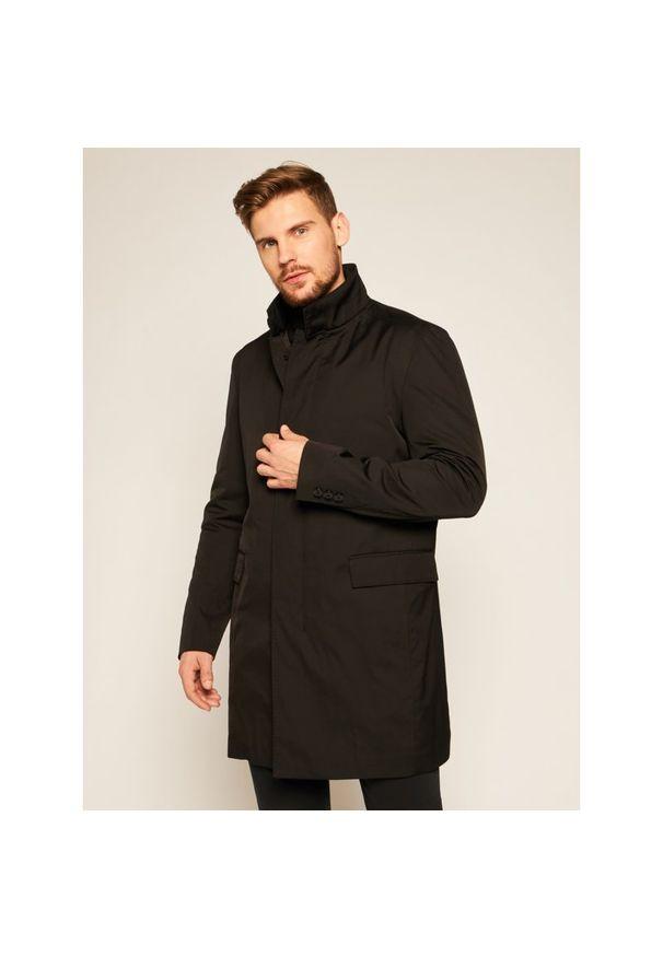 Płaszcz przejściowy Strellson 11 Mayfair 30023258. Kolor: czarny