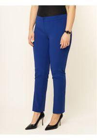 Niebieskie spodnie materiałowe Persona by Marina Rinaldi