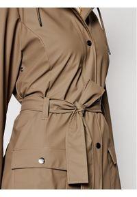 Rains Kurtka przeciwdeszczowa Curve 1206 Brązowy Slim Fit. Kolor: brązowy