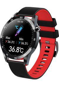 Smartwatch Centechia F22L Czerwony (5907622651847). Rodzaj zegarka: smartwatch. Kolor: czerwony