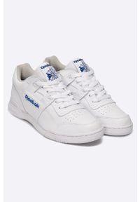 Białe sneakersy Reebok Classic z cholewką, Reebok Classic