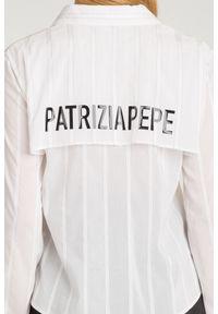 KOSZULA Patrizia Pepe. Materiał: materiał. Styl: sportowy, elegancki