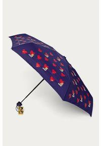 Fioletowy parasol MOSCHINO
