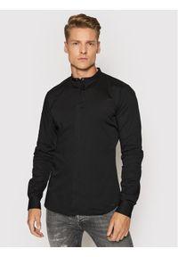 Tigha Koszula Ole Stretch 102631 Czarny Slim Fit. Kolor: czarny
