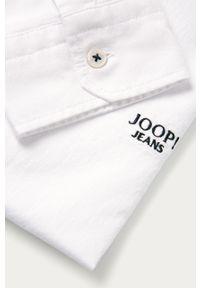 Biała koszula JOOP! na co dzień, button down, długa, casualowa