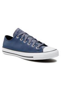Niebieskie trampki Converse