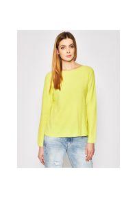 Żółty sweter Marc O'Polo polo