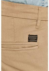 Szare szorty Guess Jeans na co dzień, casualowe