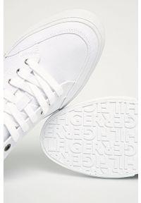 TOMMY HILFIGER - Tommy Hilfiger - Tenisówki. Nosek buta: okrągły. Zapięcie: sznurówki. Kolor: biały