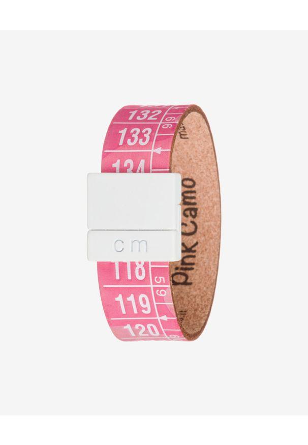 Różowa bransoletka Il Centimetro w kolorowe wzory