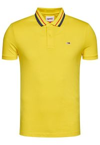 Żółta koszulka polo Tommy Jeans polo