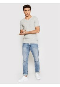 Only & Sons - ONLY & SONS T-Shirt Basic 22020799 Szary Slim Fit. Kolor: szary #3