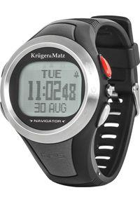Krüger&Matz - Zegarek sportowy Kruger&Matz Navigator 100 Szary (KM0073). Kolor: szary. Styl: sportowy