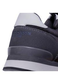U.S. Polo Assn - Sneakersy U.S. POLO ASSN. - Edgar1 NOBIL4077W0/NH1 Dkgr. Okazja: na co dzień. Kolor: szary. Materiał: materiał. Szerokość cholewki: normalna. Styl: sportowy, casual