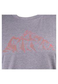 Koszulka turystyczna męska McKinley Mathu 413322. Materiał: włókno, poliester, tkanina, materiał. Długość rękawa: krótki rękaw. Długość: krótkie