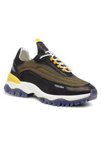 Togoshi Sneakersy TG-27-05-000275 Zielony. Kolor: zielony