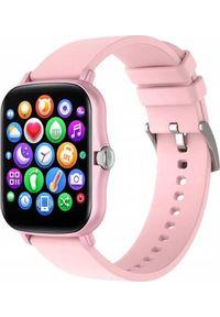 Smartwatch Bakeeley Y20 Różowy. Rodzaj zegarka: smartwatch. Kolor: różowy