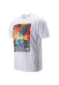Koszulka sportowa New Balance z nadrukiem