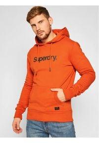 Superdry Bluza Cl Canvas M2010422A Pomarańczowy Regular Fit. Kolor: pomarańczowy