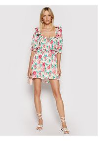 For Love & Lemons Sukienka letnia Becca CD2347 Kolorowy Regular Fit. Wzór: kolorowy. Sezon: lato
