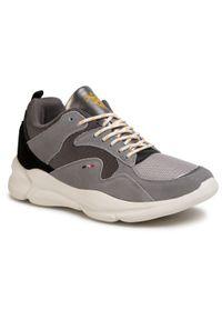 U.S. Polo Assn - Sneakersy U.S. POLO ASSN. - Arvan1 ARVAN4237W9/Sm1 Mgrey/Blk. Okazja: na co dzień. Kolor: szary. Materiał: skóra, materiał, zamsz. Szerokość cholewki: normalna. Styl: elegancki, klasyczny, casual