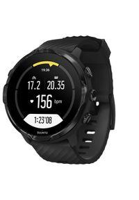 Czarny zegarek SUUNTO cyfrowy, sportowy