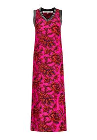 Różowa sukienka letnia MCQ Alexander McQueen